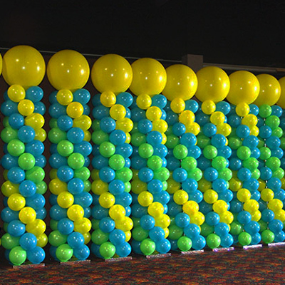 Decoracion con globos decorado globofexia - Globos de decoracion ...